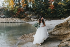 Anna Poplavskiy and Eugene Faliy Day After Wedding Shoot Lake Jocassee